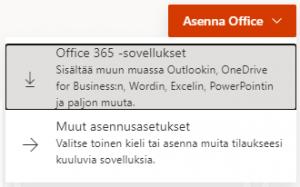 Asenna Office -painikkeen kuva